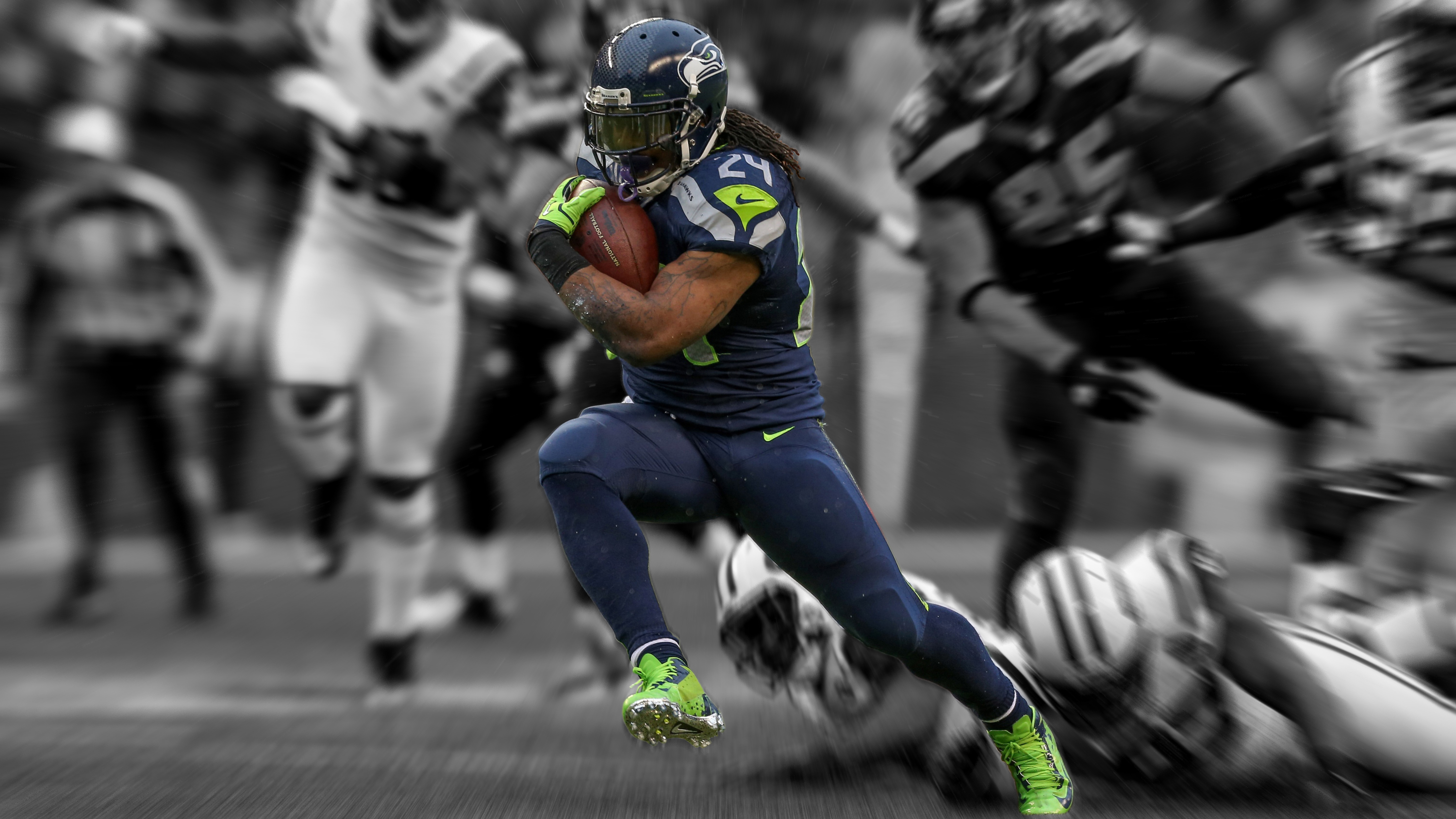 marshawn lynch seahawks 2013 wallpaper images pictures