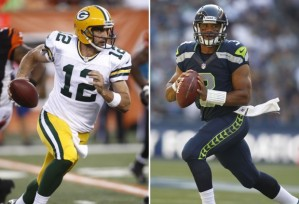 Aaron Rodgers & Russell Wilson